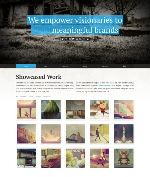 Folio - WordPress Responsive Portfolio Theme